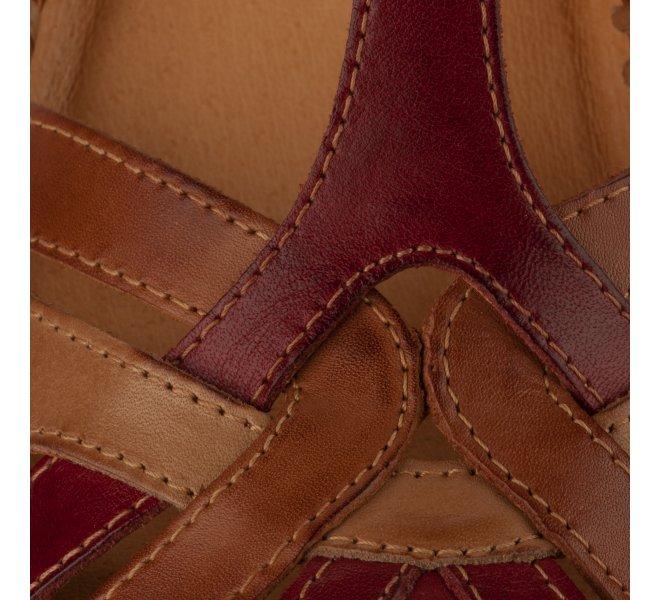 Chaussures de confort femme - PIKOLINOS - Rouge