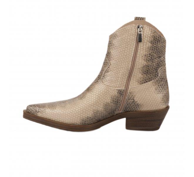 Boots femme - MIGLIO - Python