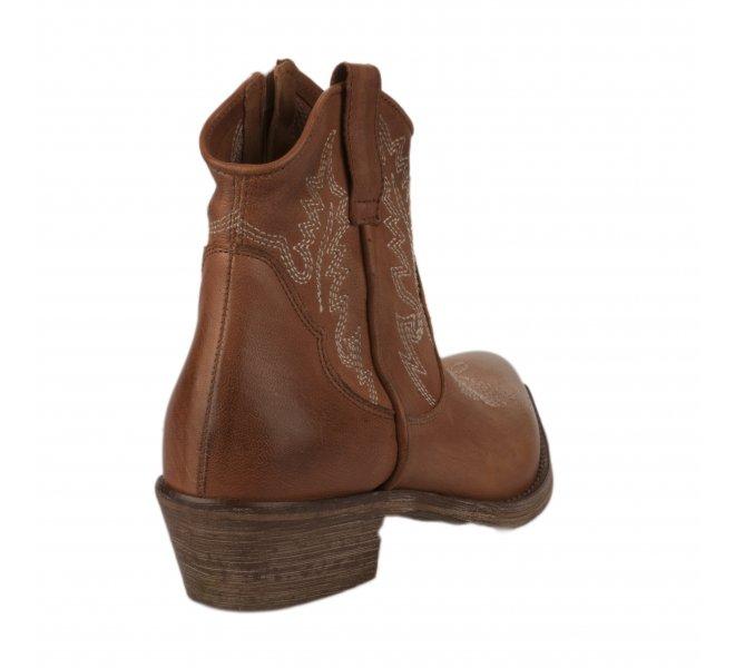 Boots femme - METISSE - Naturel