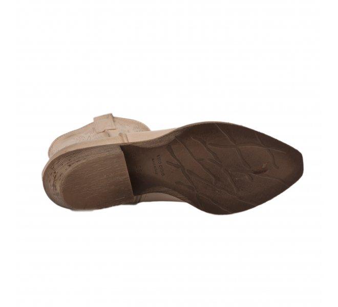 Boots femme - METISSE - Beige