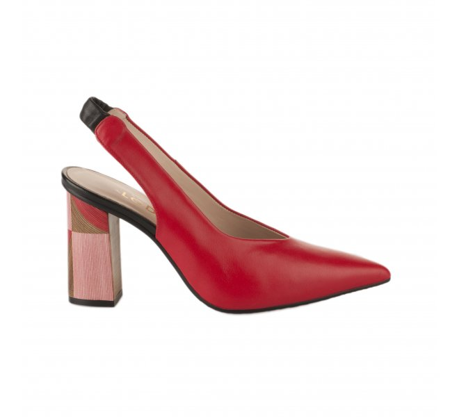 Escarpins femme - LODI - Rouge