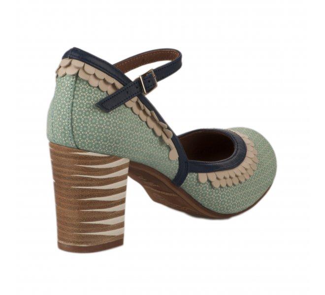 Escarpins femme - NEMONIC - Bleu turquoise