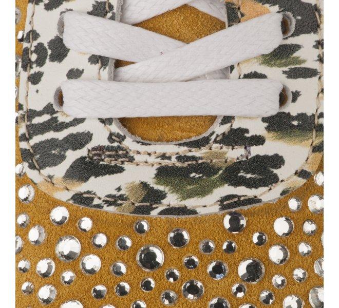Baskets mode femme - MIGLIO - Jaune