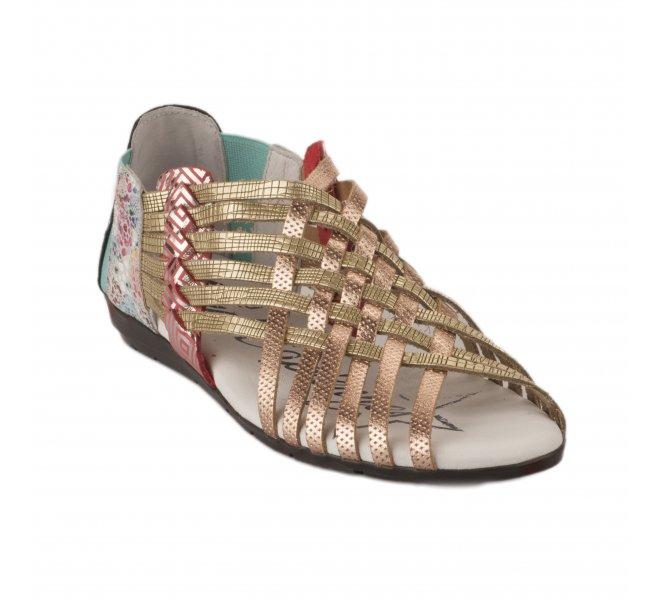 Nu pieds femme - LES FERRET CAPIENNES - Multicolore