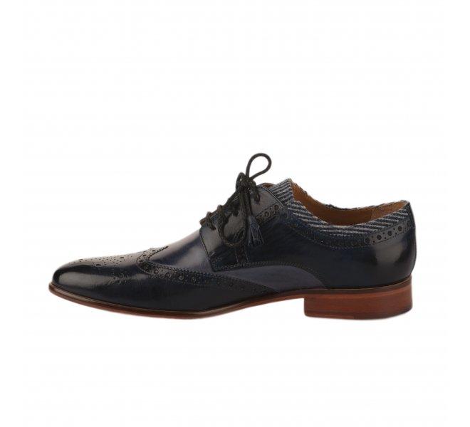 Chaussures à lacets homme - MELVIN & HALMILTON - Bleu