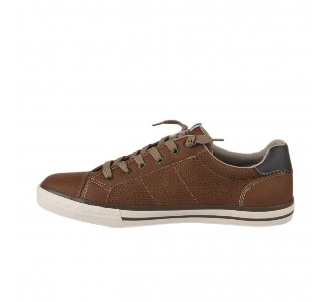 Baskets homme - MUSTANG - Marron