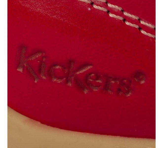 Bottines mixte - KICKERS - Rouge