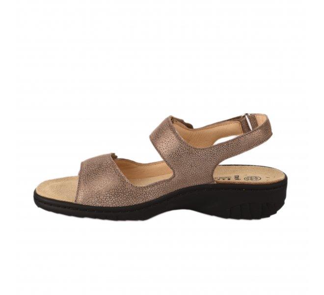 Nu pieds femme - MEPHISTO - Taupe