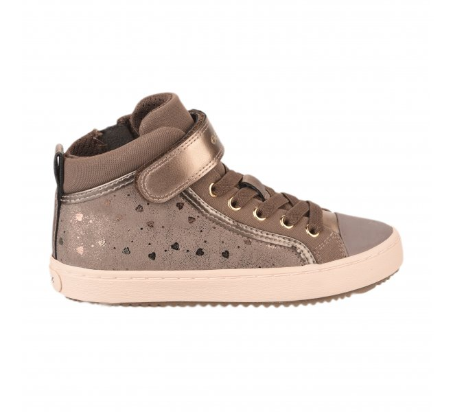 Baskets fille - GEOX - Taupe