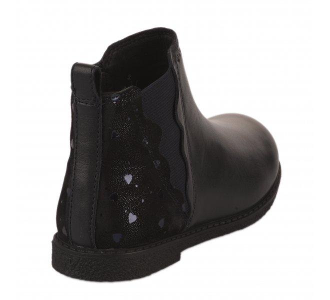 Boots fille - GEOX - Bleu marine