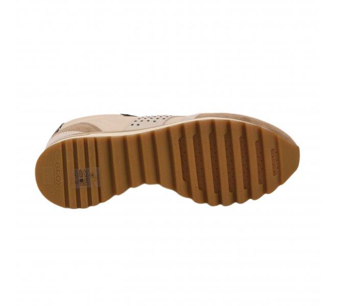Baskets mode femme - GEOX - Beige