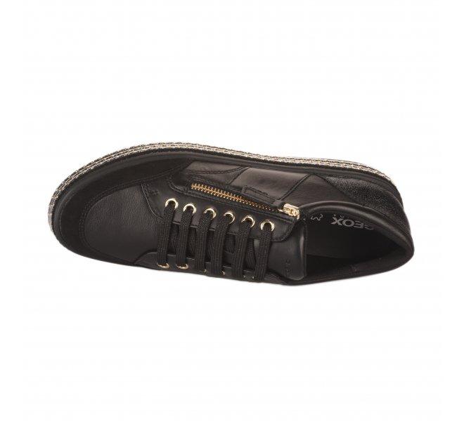 Baskets mode femme - GEOX - Noir