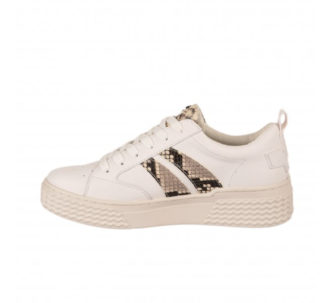 Baskets fille - PALLADIUM - Blanc