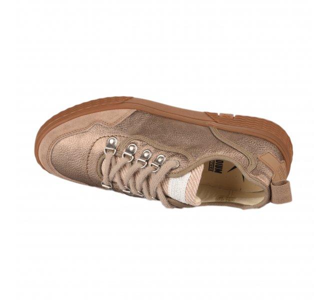 Baskets fille - PALLADIUM - Bronze