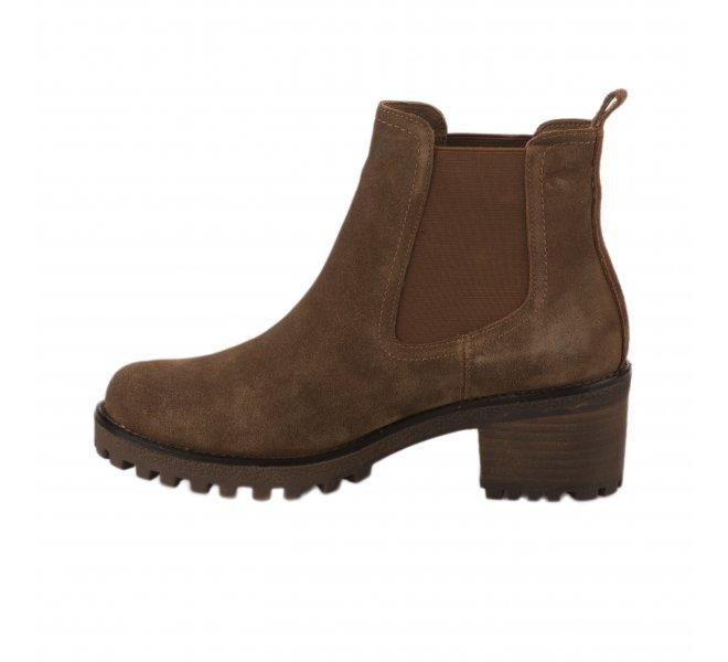 Boots femme - CARMELA - Naturel