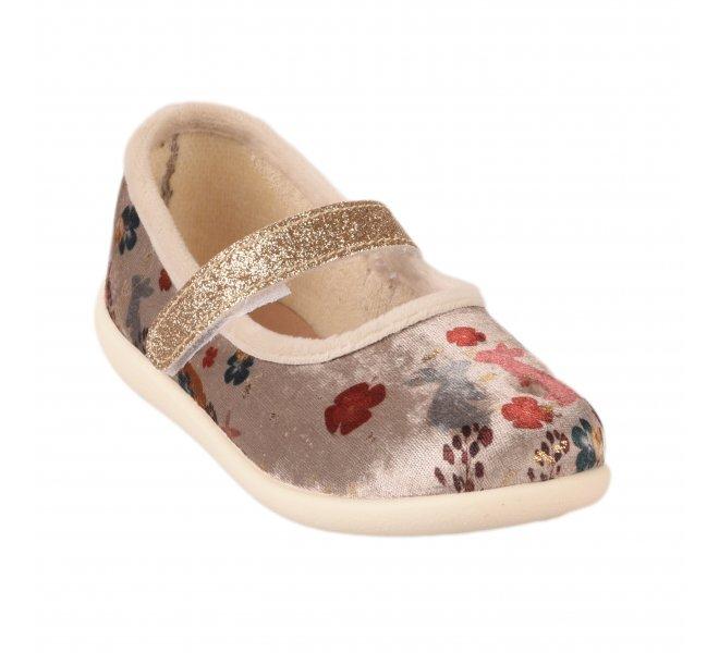 Pantoufles fille - BELLAMY - Beige