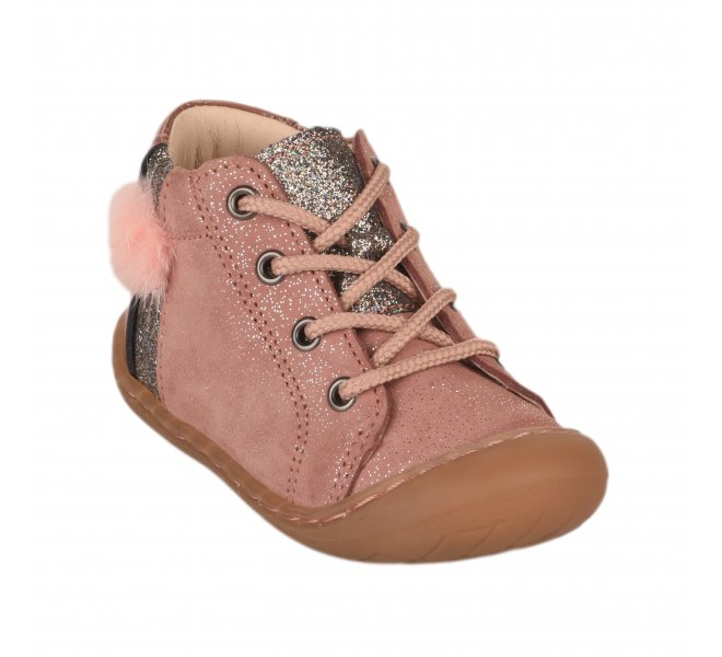 Bottines fille - BELLAMY - Rose