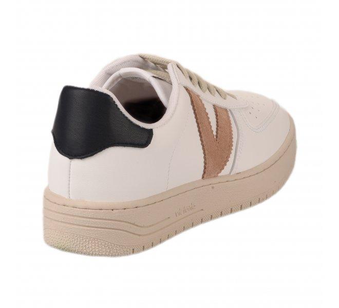 Baskets mode fille - VICTORIA - Blanc