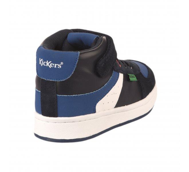 Baskets garçon - KICKERS - Bleu