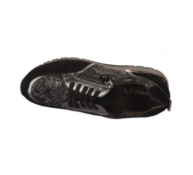 Baskets mode femme - CAPRICE - Noir
