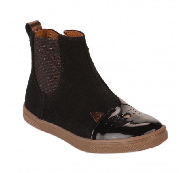 Boots fille - GBB - Noir