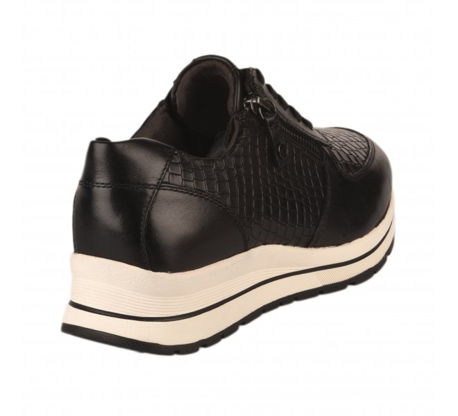 Baskets mode femme - TAMARIS - Noir