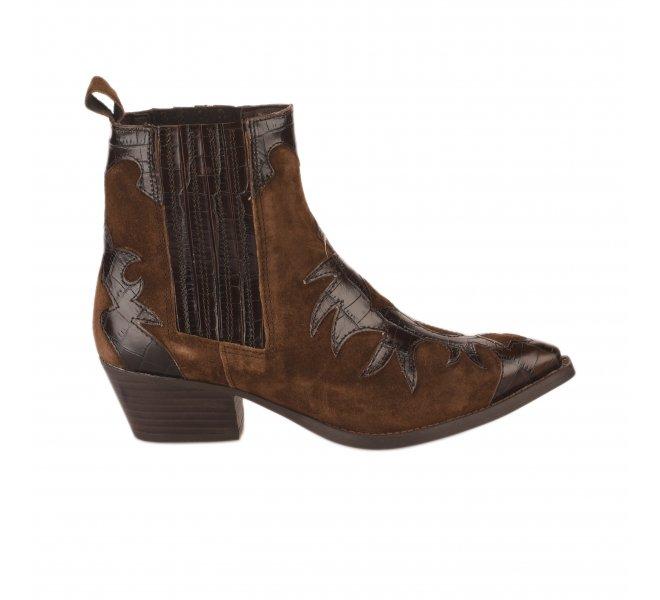 Boots femme - ALPE - Marron