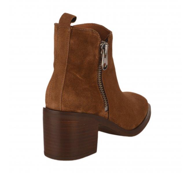 Boots femme - ALPE - Naturel