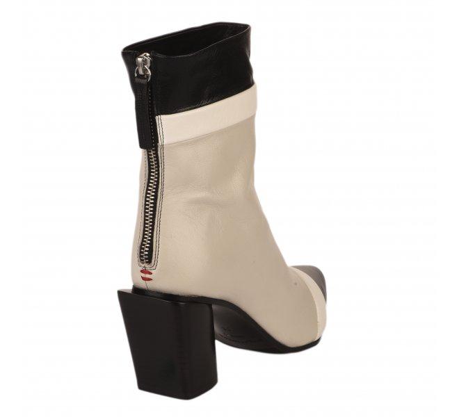 Boots femme - HALMANERA - Blanc