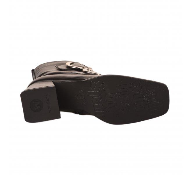 Boots femme - WONDERS - Noir
