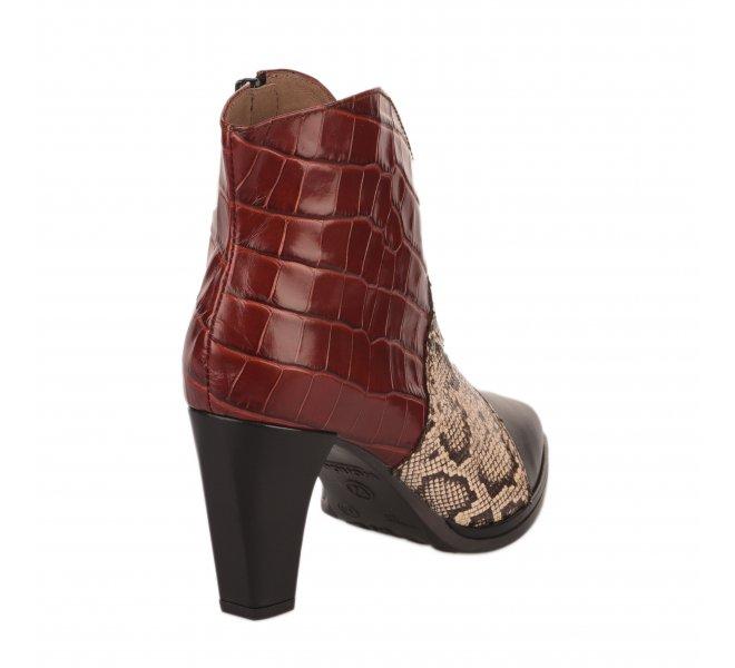 Boots femme - WONDERS - Rouge