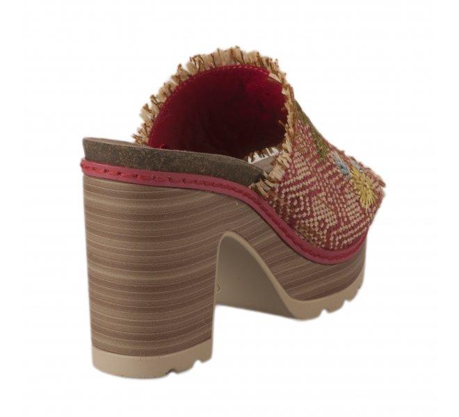 Nu pieds femme - REFRESH - Rouge