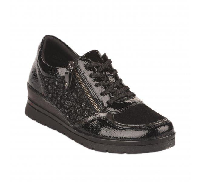 Chaussures à lacets femme - REMONTE - Noir