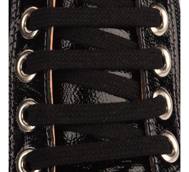 Baskets mode femme - CHACAL - Noir verni