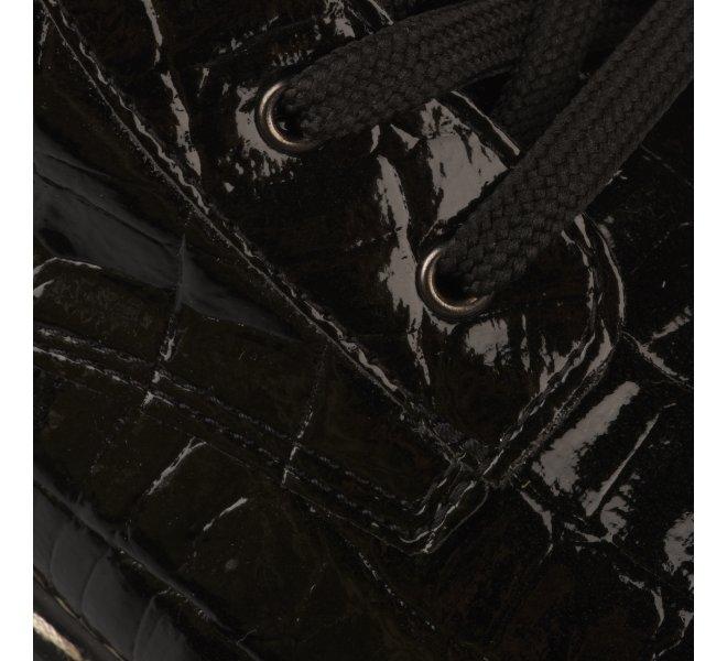 Bottines fille - KIPLING - Noir verni
