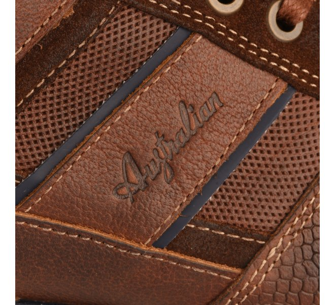 Baskets homme - AUSTRALIAN - Marron