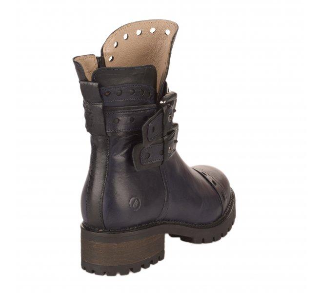 Boots femme - CASTA - Bleu
