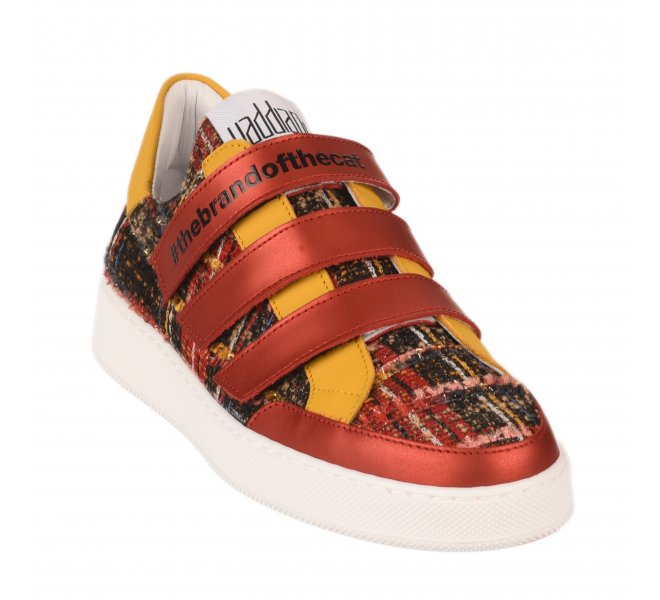 Baskets mode femme - VADDIA - Rouge