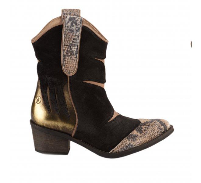 Boots femme - CASTA - Noir