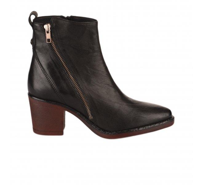 Boots femme - LA VIE EST BELLE - Noir