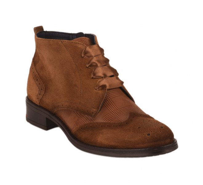 Bottines femme - DORKING - Naturel