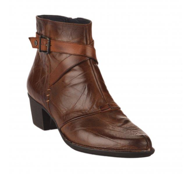 Boots femme - DORKING - Marron fonce