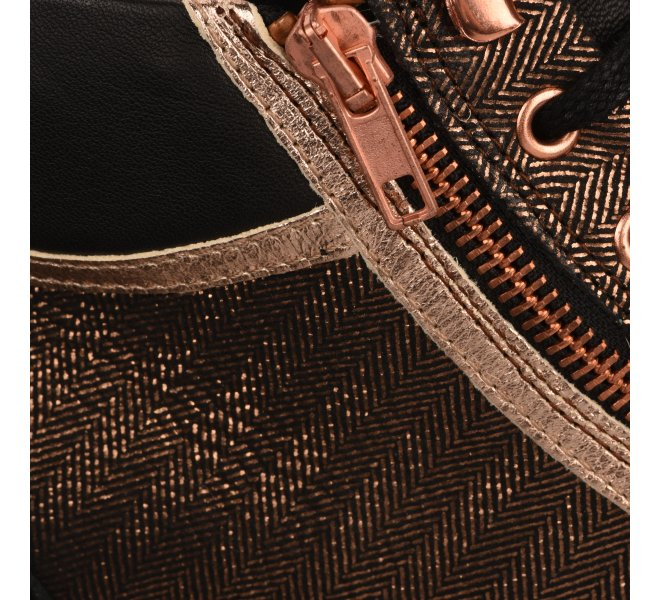 Baskets mode femme - PATAUGAS - Bronze