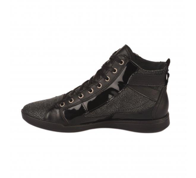 Baskets mode femme - PATAUGAS - Noir