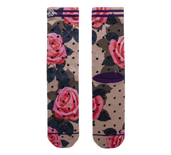Chaussettes femme - XPOOOS - Dore