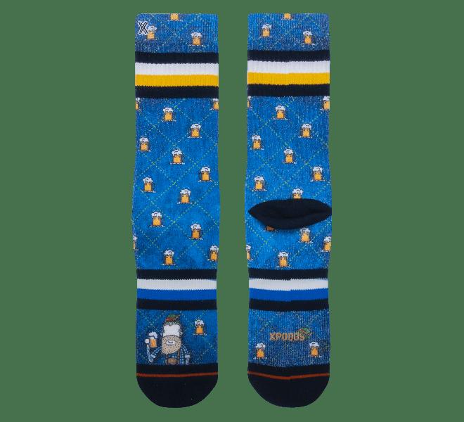Chaussettes homme - XPOOOS - Bleu