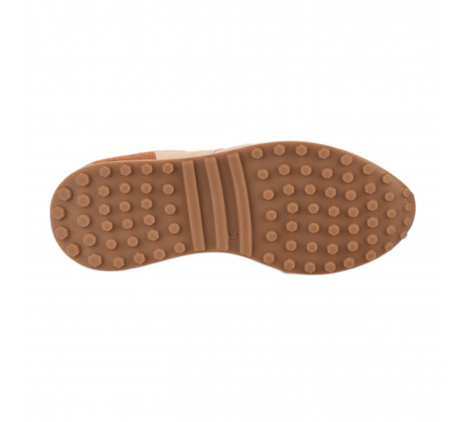Baskets mode femme - PANAFRICA - Beige