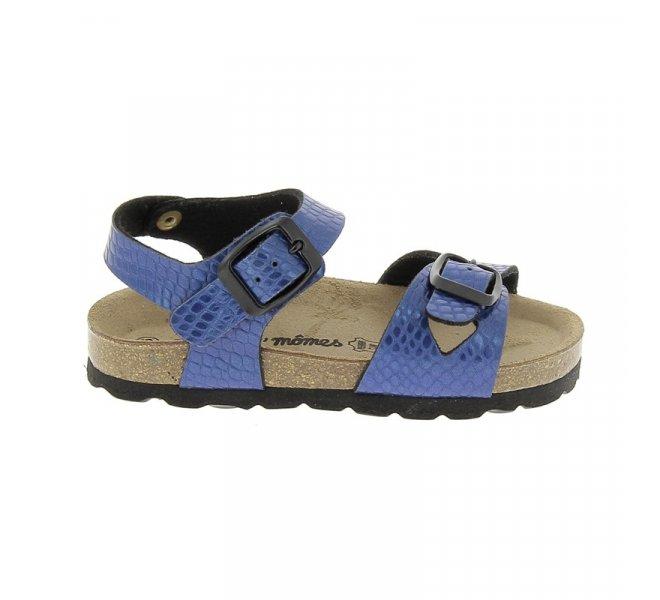 Nu-pieds fille - CHAUSSMOME - Bleu
