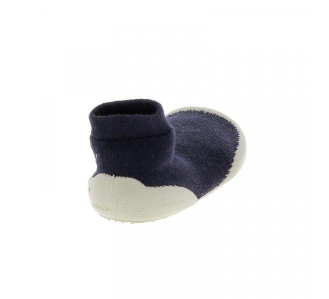 Pantoufles garçon - COLLéGIEN - Bleu marine