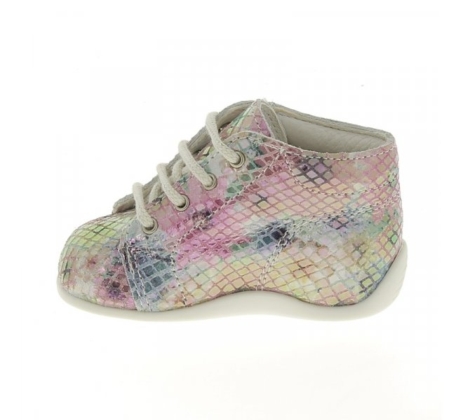 Bottines fille - CHAUSSMOME - Multicolore